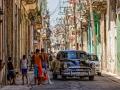 Street scene in Havana, Cuba